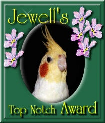 Jewell's Top Notch Award